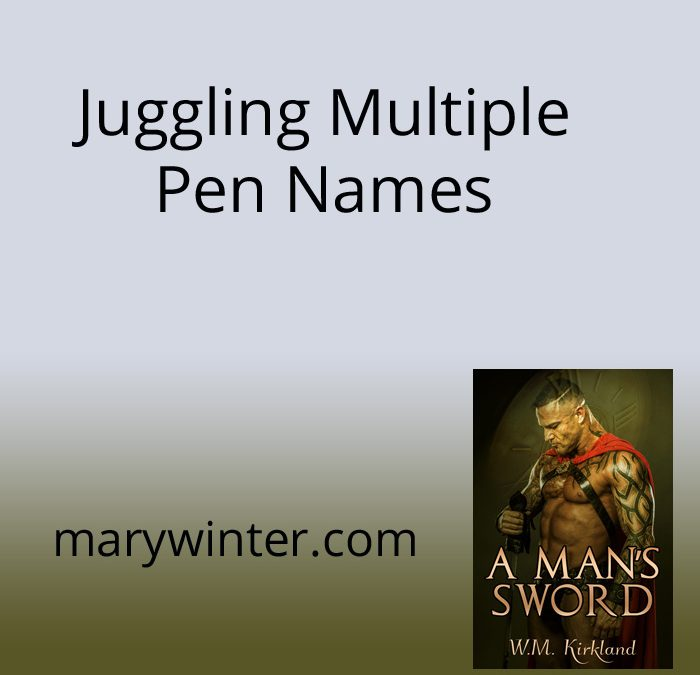 Juggling Multiple Pen Names