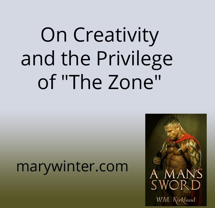 "On Creativity and the Privilege of ""The Zone"""