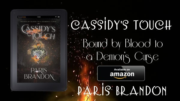 Book Share: Cassidy's Touch by Paris Brandon